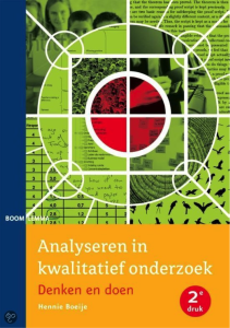 Goed boek analyse kwalitatief onderzoek