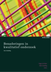 Goed boek benaderingen kwalitatief onderzoek
